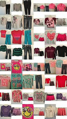 Girls Size 7, 7/8 Clothing, Justice Tops, Jeans, Skirts, Clothes, Outfits Lot