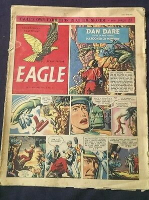 eagle comic dated 18th july 1952 vol.3 issue 15