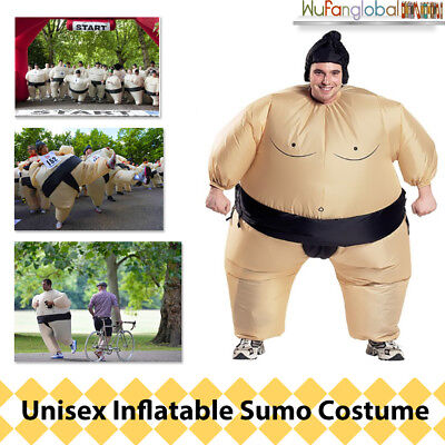Adult Inflatable Sumo Costume Suits with Battery Fancy Dress For Party Wrestling
