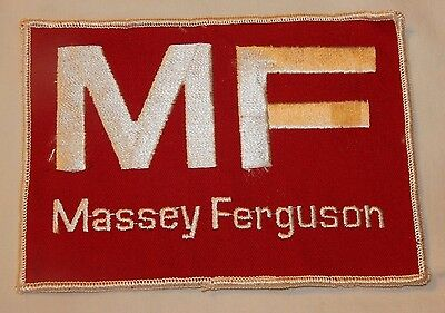 Large old MF Massey Ferguson Tractor advertising patch