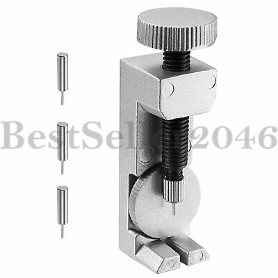 Watch Band Strap Link Pin Remover Repair Tool Kit for Watchmakers With 3 Pins