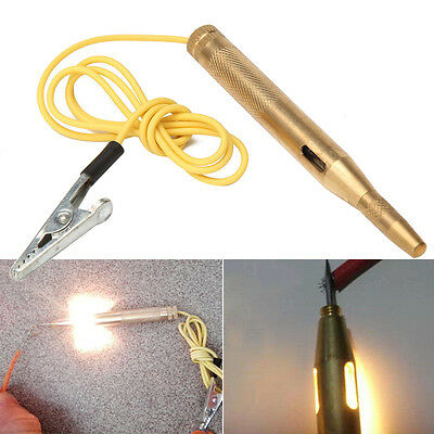 DC 6V 12V 24V Light System Test Probe Lamp Continuity Car Voltage Circuit Tester