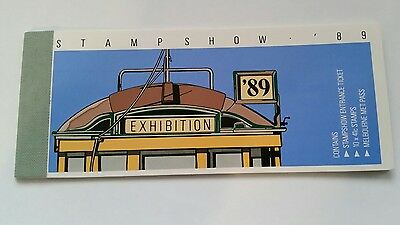 1989 StampShow Exhibition Stamp Booklet -AUSTRALIA POST- fast post