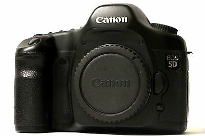 CANON EOS 5D MARK I ORIGINAL 1 12.8 MP DIGITAL SLR CAMERA BODY ONLY with CHARGER