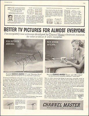 1955 Vintage ad for Channel Master Antennas 50's retro  Photo (091616)