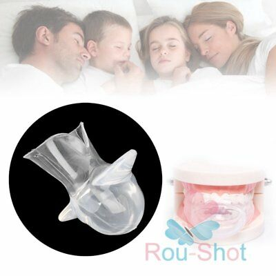 2x Anti Snore Tongue Soft Silicone Snoring Stopper Snore Stop Aid【AU】