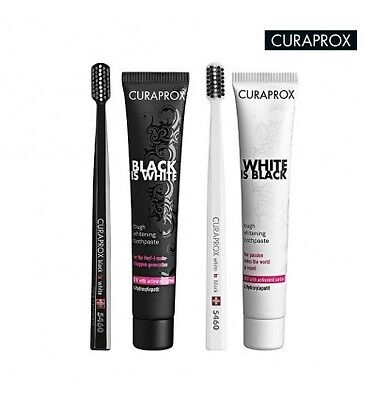 Curaprox Black Is White 90 ml - Spazzolino  Dentifricio