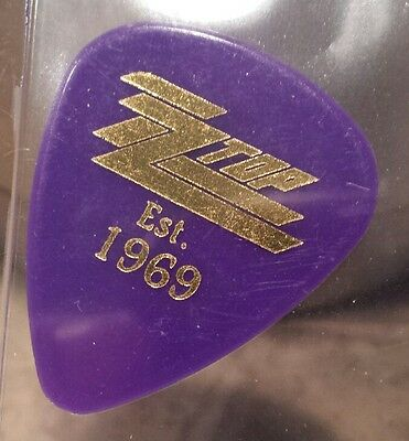 ZZ Top Dusty Hill Guitar Pick 2009