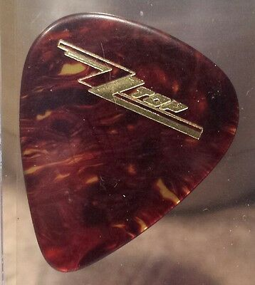 ZZ Top Billy Gibbons Guitar Pick Eliminator Tour 1983