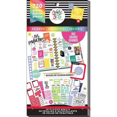 Mambi Happy Planner Create 365 Value Sticker Book . 459 Stickers!  Color My Way