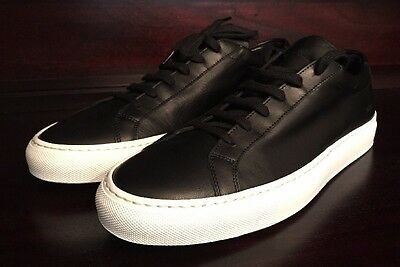 New Men's Black Common Projects Achilles Size 42 (9)