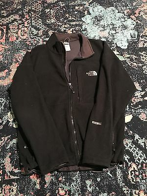 Used The North Face Windfall Men's Black Size M Fleece Jacket Coat