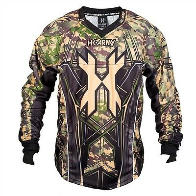 HK Army HSTL Line Jersey Camo - Small - Paintball