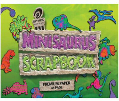Olympic Scapbook Minisaurus 168x240mm 64 Page 10 Pack