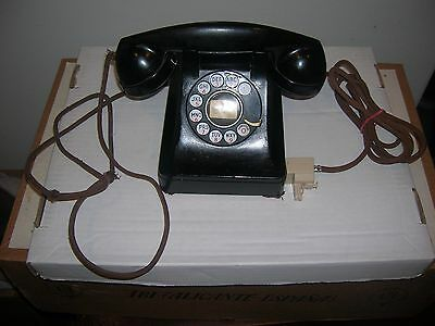 Vintage 1940's Western Electric Model 302 with F1 Handset
