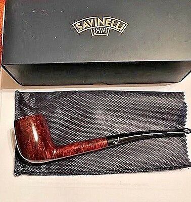 Savinelli Bing's Favorite Smooth..Made in Italy..Unsmoked...New in Box-filter