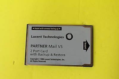 Lucent Partner Mail VS 2 Port Expansion Card 50A Memory Card 108344268 FOR SALE