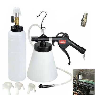 NEW 1L Air Brake Bleeder Kit Pneumatic Clutch Vacuum Hydraulic Fluid Fill Bottle