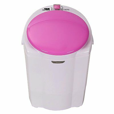 The Laundry Alternative Miniwash Portable, Compact Mini Washing Machine (Pink)