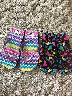 Girls' OP Flip Flops - Size 11/12 (New Without tags)