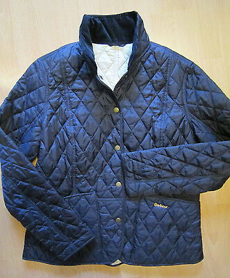 original barbour damen steppjacke blau gr 42 wie neu eur 40 00 picclick de. Black Bedroom Furniture Sets. Home Design Ideas