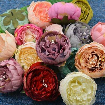 15 Heads Rose Bouquet Fake Silk Flower Party Home Wedding Floral Decor Chic