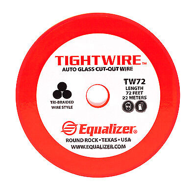 Equalizer Gold Glass Cut-Out Wire 72 Ft Roll