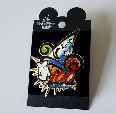 "Walt Disney World ""100 Years of Magic"" pin badge"
