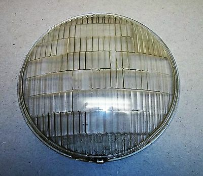 "7"" Headlamp Headlight Lens Guide SEALED BEAM 493"