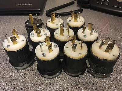 Hubbell HBL2311 twist lock connector 20A 125V (lot of 10)
