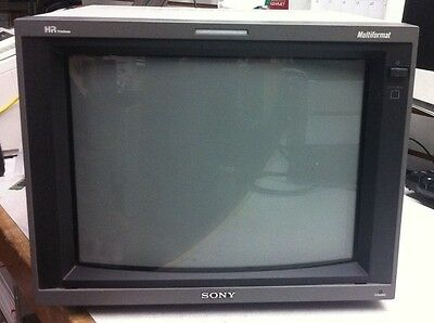 "Sony PVM-14L5 14"" HR Trinitron Color CRT Video Monitor RBG Multi-Format"