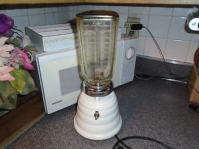Vintage Oster Osterizer Beehive Blender Mixer One Speed WORKS GREAT!!