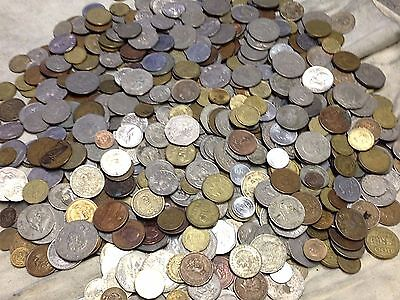 Huge 10 lbs Lot of Mexican Coins, Mexico modern & vintage coins, WYSIWYG, lot#19