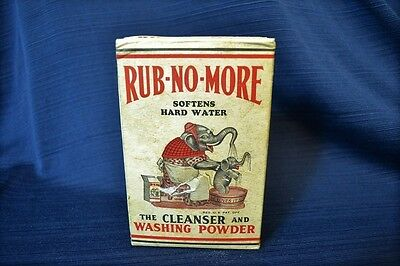 Vintage RUB NO MORE Cleanser Full Box Procter And Gamble