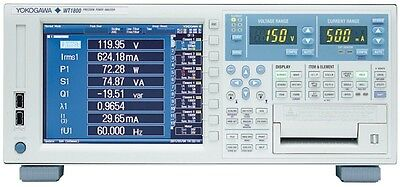 Yokogawa WT1800 High Performance Power Analyzer