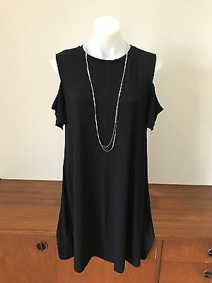 Now Maternity Black Dress Size 12