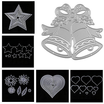 Christmas Metal Cutting Dies Stencil Scrapbook Album Paper Card Embossing Craft