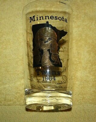 Minnesota Twins  1964 Glass With Printed Autographs..Harmon Killabrew