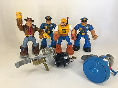 Fisher Price - Rescue Heroes Lot