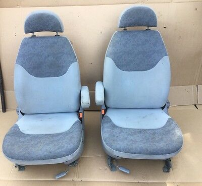 Ford Galaxy Driver And Passenger Front Swivel Seats With Armrest And Headrest