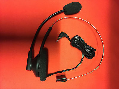 HandsFree Headset For Your Cordless Phone 2.5MM Headset Jack HEADSET