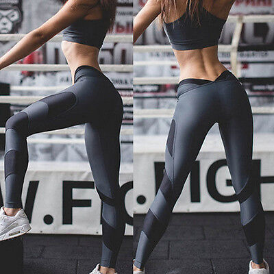 Fashion Women's Sports Gym Yoga Workout Running Fitness Leggings Pants Workout