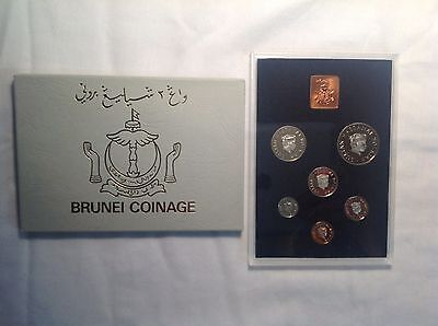 1979-Brunei Proof Unc. Coin Set From The Royal Mint