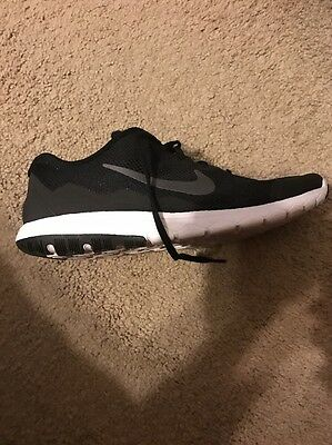 Nike Flex Experience Rn 4 Men's 11 Black White Shoes Running