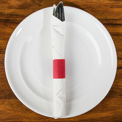 Napkin Bands  Red (20000) Free Shipping Usa Only