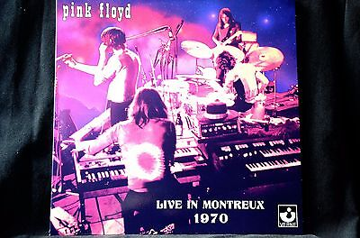 "Pink Floyd Live In Montreux 1970 Double 12"" vinyl LP New"