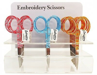 """Swirl Embroidery Scissors, Sewing & Quilting Thread, 3.75"""""""