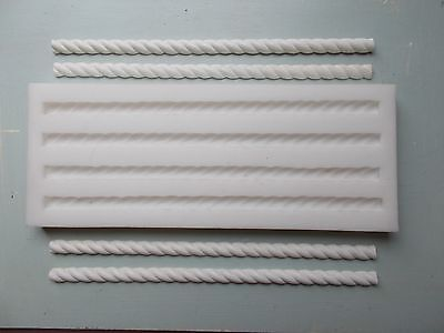 Barley Twists Silicone Rubber Mould Make Your Own Furniture Mouldings
