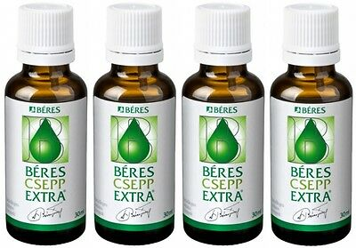 BERES DROPS EXTRA - IMMUNE SYSTEM SUPPORT - 4x30ml - Béres csepp with vitamins