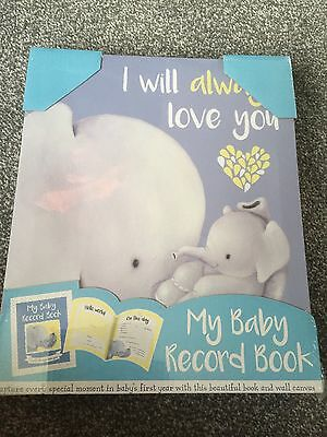 Brand New Baby Record Book & Wall Canvas